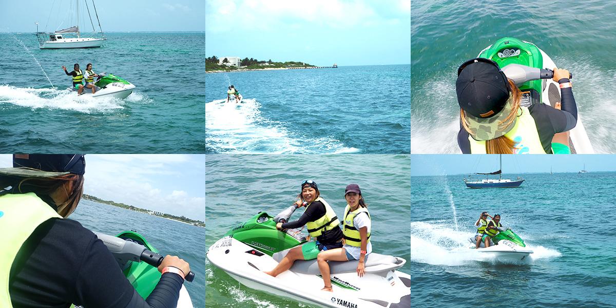 水上ジェットの写真